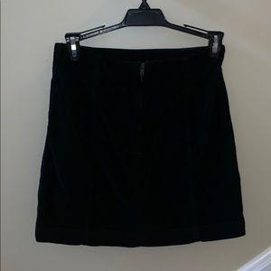 Free people stylish black skirt